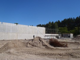 Military shooting range, NATO project, Świnoujście